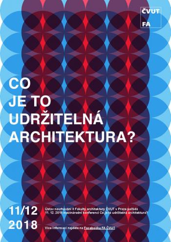 Konference Co je to udržitelná architektura?
