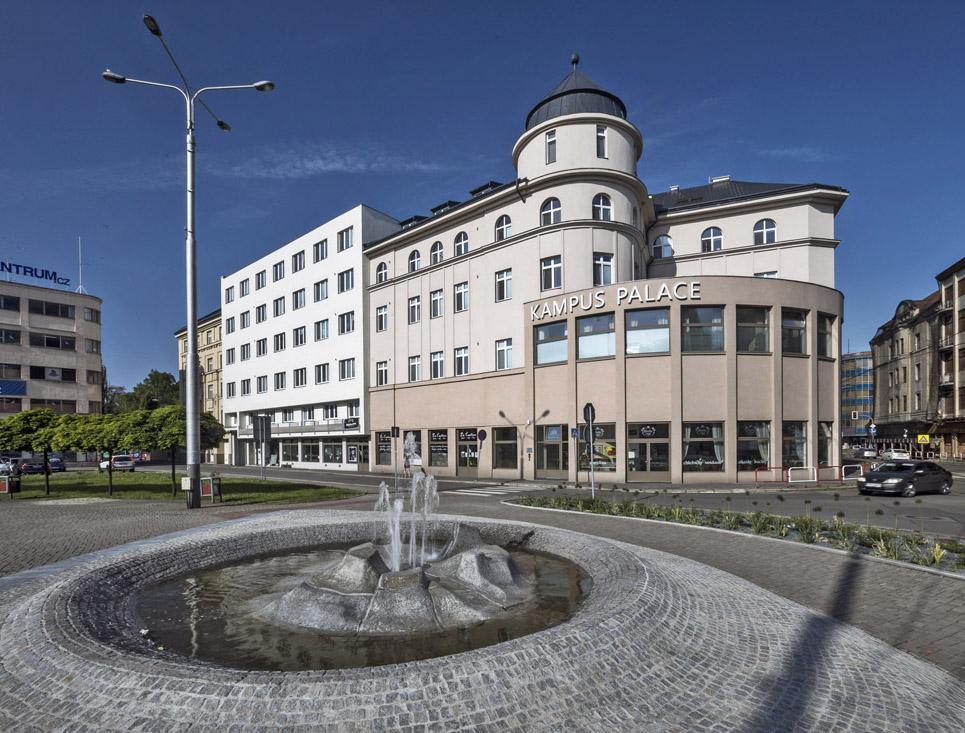 Kampus Palace – z hotelu bydlení pro studenty