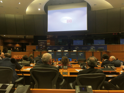 Společné setkání na půdě Evropského parlamentu