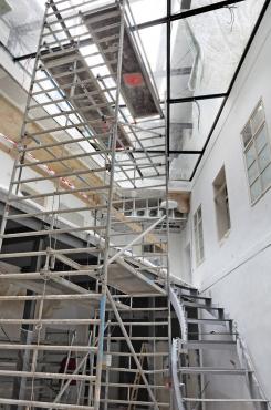 Obr. 5: Instalace schodiště