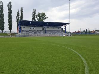 Rekonstrukce probíhala před mistrovstvím Evropy ve fotbale hráčů do 21 let. Celý areál měl odpovídat parametrům, které tento typ zápasů vyžaduje.