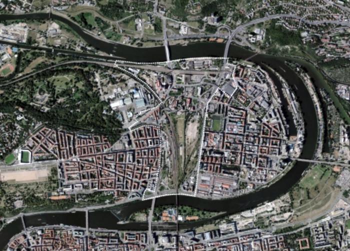 IPR nechá vypracovat urbanistickou studii pro území Bubny-Zátory