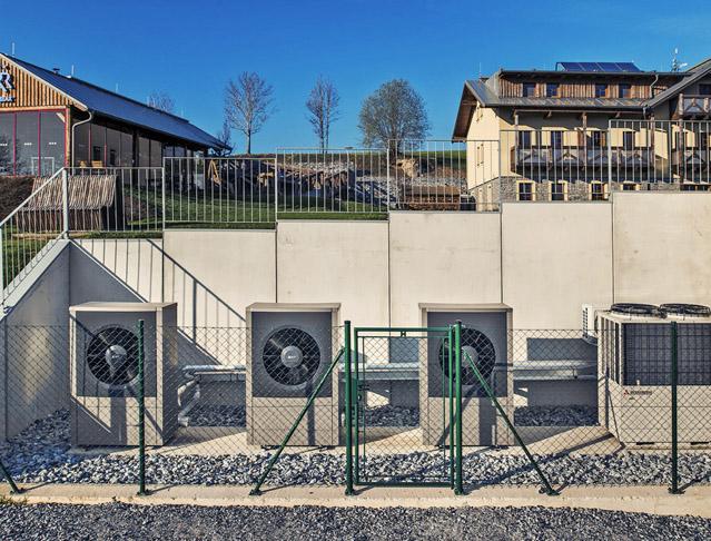 Vysokoteplotní tepelná čerpadla. Mimořádně úsporné řešení ohřevu teplé vody v bytových domech a hotelech