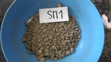 Obr. 1: Testované směsi recyklovaného kameniva
