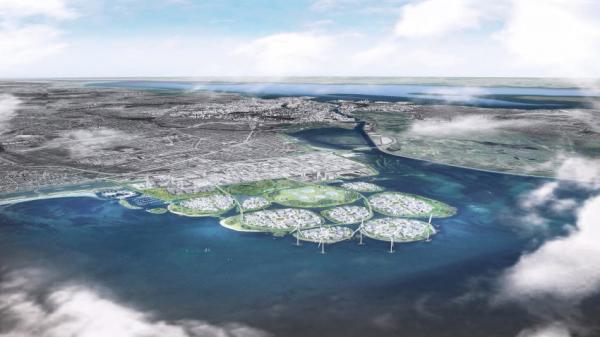 Dánsko plánuje u Kodaně devět nových ostrovů (zdroj www.spiegel.de)