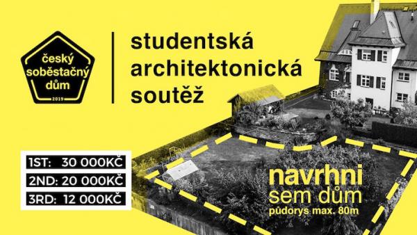 Startuje studentská soutěž Český soběstačný dům