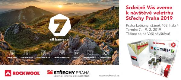 Rockwool na veletrhu Střechy Praha 2019