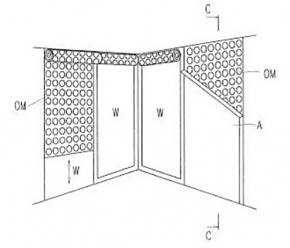 Jedna z řady alternativ patentu čočkového rastru v ploše