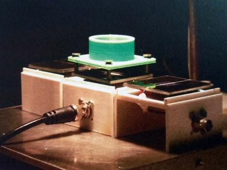 Foto z laboratorního měření