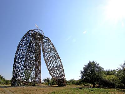 Rozhledna Doubravka na pražském vrchu Horka