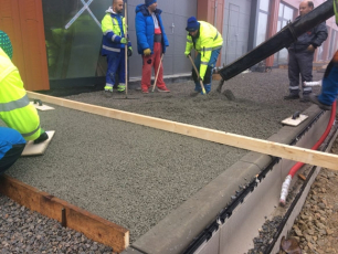 Drenážní beton ZAPA DROP pro povrch komunikací v Brně
