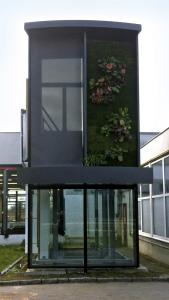 Obr. 8: Zkušební modul fasády
