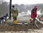 Betonování v zimě
