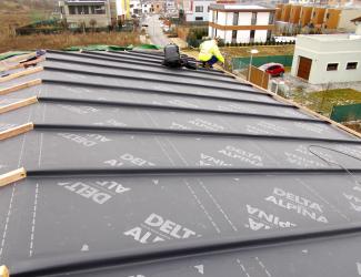 Šikmé střechy a fólie lehkého typu