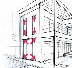 Nová generace kompozitního materiálu RAU-FIPRO X umožňuje větší rozměry oken