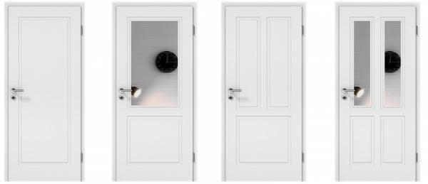 Ukázka interiérových dveří z nové řady Montana