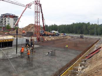 Dokončení bytového domu Sylván s materiály ZAPA beton
