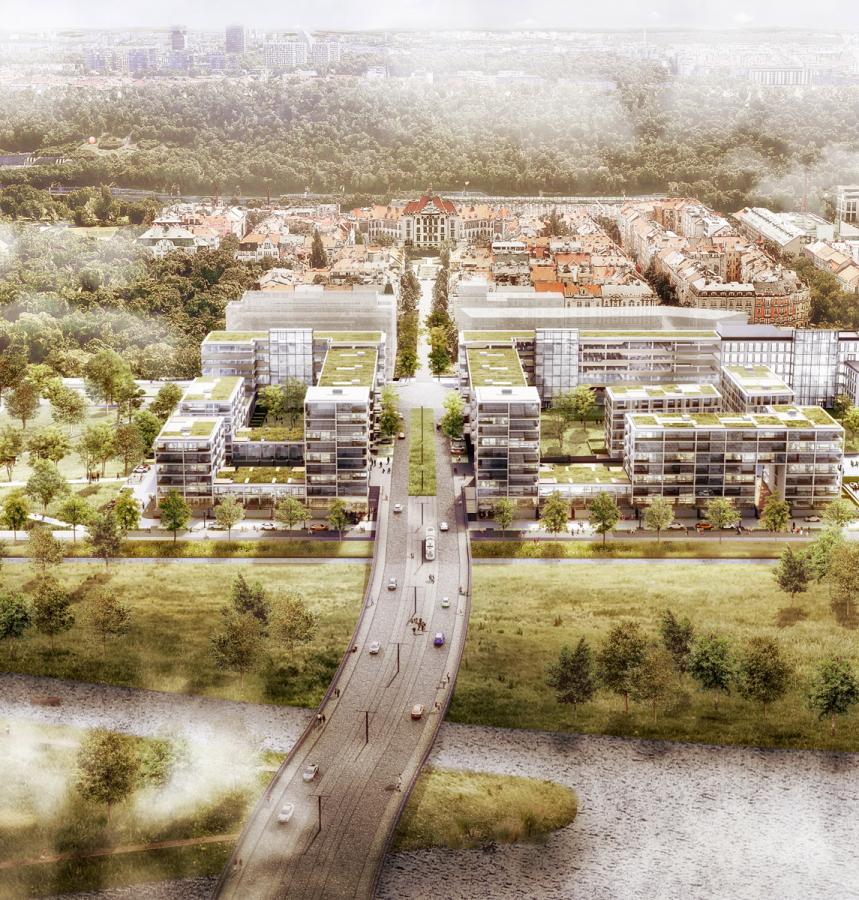 Společnost Sekyra Group představila urbanistické řešení 2. etapy výstavby na Rohanském ostrově