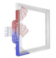 Obr. 2: Okno s rekuperačním větráním (zdroj www.internorm.com)