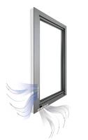 Obr. 4: Okno s rekuperačním větráním (zdroj www.sina-fenster.de)