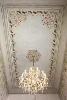 Obnovená malba na stropech