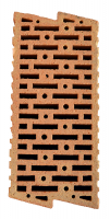 Cihelný broušený akustický blok HELUZ AKU Z 17,5