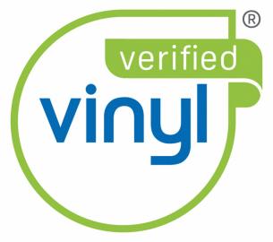 Logo VinylPlus, které získá výrobce oddaný udržitelnému rozvoji