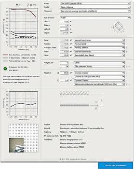 Knauf kalkulátor prostorové akustiky