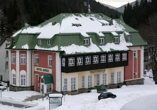 Horský hotel Hořec v Peci pod Sněžkou