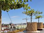 Drn – zelená střecha mezi věžemi