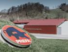 Podniková základna dobrovolných hasičů firmy Neuman v Marktlu s využitím produktů PREFA Alu