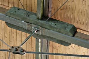 Obr. 6: Detail zosilnenia väzníka