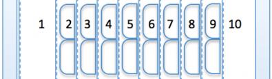 Obr. 4: Úprava, var. 3 – Venkovní sklo je stejné jako u varianty 1 a 2, namísto dvou reflexních fólií, vytvářejících ve variantě 2 celkem tři komory, je zde použita vícevrtstvá reflexní izolace, vytvářející mezi skly celkem deset komor