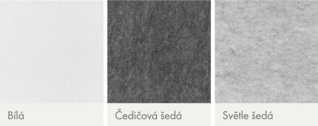 Knauf Cleaneo Single Smart nabízí tři barevné varianty – bílá, čedičově šedá a světle šedá