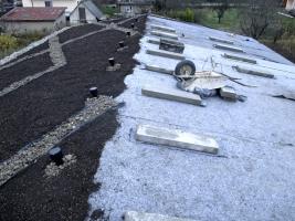 Obr. 12: Základ zelené střechy
