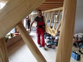 Obr. 17: Instalace schodiště