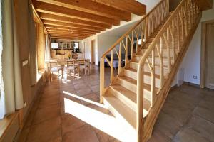 Obr. 18: Dokončené schodiště