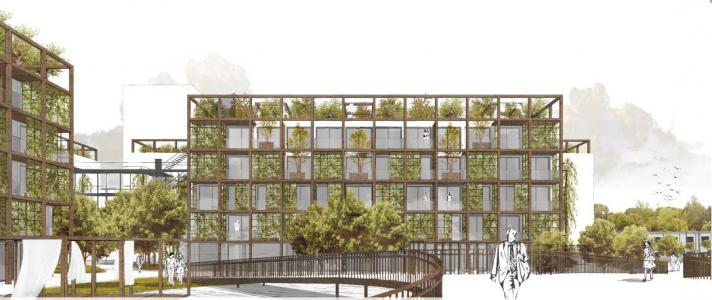 Vítězný návrh Multi-Komfortního domu