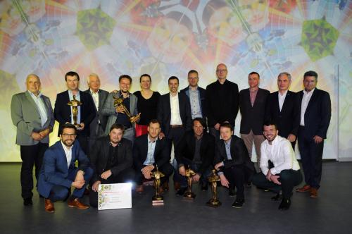 Vítězové jednotlivých kategorií soutěže Fasáda roku 2019