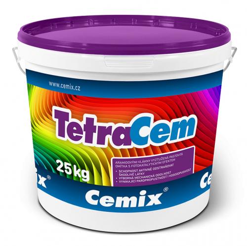 Pastovitá omítka Cemix TetraCem