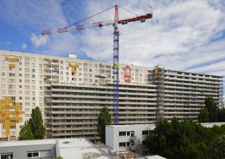 Grand Parc Bordeaux, průběh rekonstrukce, foto Philippe Roualt