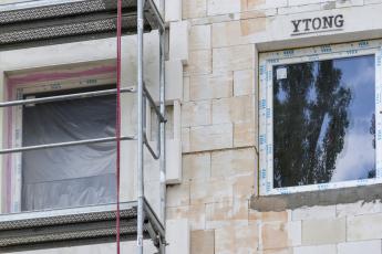 Moderní bytová výstavba v Plzni – systémové řešení pomocí značek Ytong, Silka, Multipor