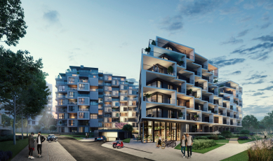 Nová čtvrť Hagibor