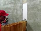 Připojení nenosné příčky přes pásek EPS tl. 10 mm (varianta 1)