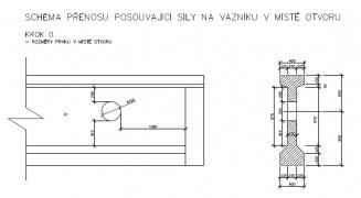 Zesílení střešních vazníků pomocí FRP tkanin BETOSAN CRC