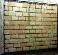 Obr. 3: Stěna z Porotherm 25 AKU SYM bez povrchové úpravy