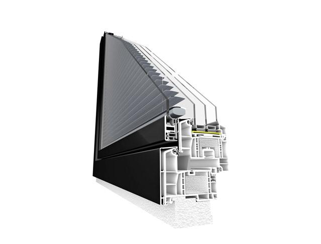 Inovativně řešená okna  pro energeticky úsporné domy