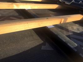 Řemeslná vychytávka: lokální podtěsnění střešní latě