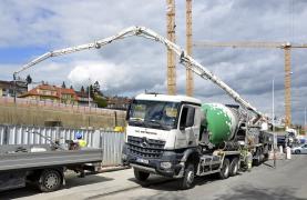 Betonáže projektu Bořislavka centrum