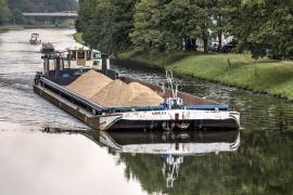 Ekologická doprava stavebních materiálů po vodě